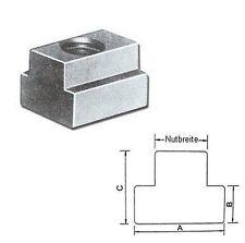 T-Nutenstein M8 x 10 mm DIN 508