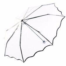 2015 Neu Automatik Faltbare Transparent Regenschirm Rüsche Schirme Für Hochzeit
