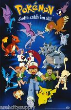 POSTER : TV: POKEMON - CHARACTERS     FREE SHIPPING !  #396  RAP17 A