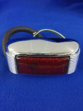 1941 PASSENGER & 1948/56 PANEL TRUCK DELUXE TAIL LAMP L/HAND W/RED LENS