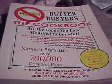 Butter Busters The Cookbook, Pam Mycoskie, low fat modified recipes soft cover