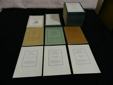 Columbia University Study Program in Rapid Reading Volumes 1-8 from 1961