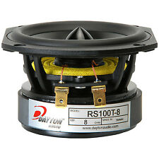 "Dayton Audio RS100T-8 4"" Reference Woofer Truncated Frame"