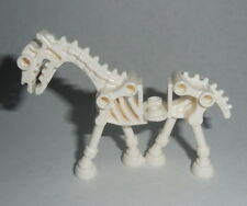 ANIMAL Lego White Skeletal Skeleton Horse NEW Halloween Castle