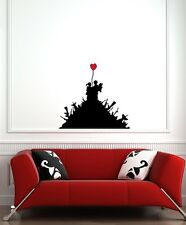 WALL - Banksy - Children on Gun Hill - Wall Vinyl Decal