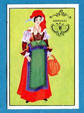 ITALIA PATRIA NOSTRA - Panini 1969 -Figurina/Sticker n. 224 - COST ABRUZZO -rec