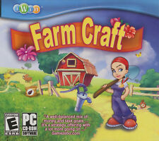 FARM CRAFT iWin Garden Farming Sim PC Game XP/Vista NEW
