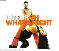 CLOCK - Oh What A Night (UK 4 Trk CD Single) (Ex)