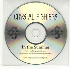 (EH608) Crystal Fighters, In The Summer - DJ CD
