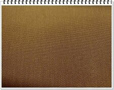 420 D High Density Coated Nylon Oxford Packcloth Fabric 1 yd color Rawhide Brown