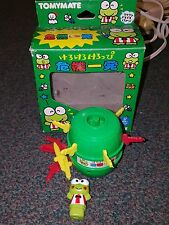Sanrio Keroppi Hasunoue Kerokerokeroppi Frog Mini Game Tomymate with Box 1990