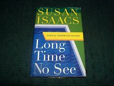 Hrd Cover Book - Long Time No See by Susan Isaacs with Jacket
