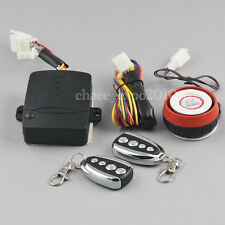 Motorcycle Bike Security Alarm System Immobiliser Remote Control Engine Start #2