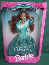 EMERALD ELEGANCE BARBIE DOLL SPECIAL EDITION NRFB NEW MIB TOY 1994 MATTEL GREEN