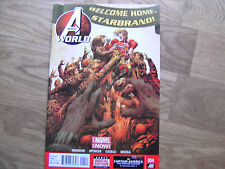 MARVEL Avengers World graphic comic issue #4 May 2014 NEW!!!! Star Brand Hickman