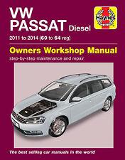 Volkswagen Passat Repair Manual Haynes Manual Workshop Manual  2011-2014