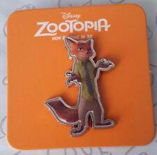 Nick Wilde the Fox Zootopia AMC Stubs Exclusive Theaters Promo Disney Pin