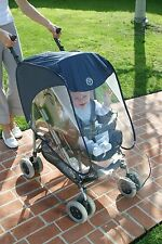 Pushchair Pram Stroller Buggy Baby Seat Raincover Rain Trendy Cover #32