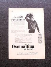 L682- Advertising Pubblicità -1960- OVOMALTINA