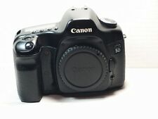 Canon EOS 5D 12.8MP Digital SLR Camera - Black Body + battery+charger