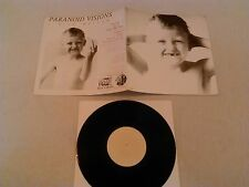 "PARANOID VISIONS - I WILL WALLOW 10"" MINI LP / ORIGINAL LTD NUMBERED FOAD MUSICK"