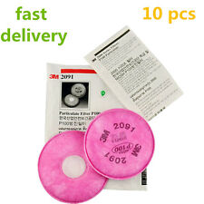 10Pc=5 Pair 2091 particulate filter P100 for 3M 6800 7000 series Respirator Mask