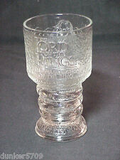 2001 BURGER KING LORD OF THE RINGS FELLOWSHIP SCRIOER GOBLET GLASS MUG