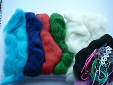 Felt making Kit for absolute beginners merino wool tops