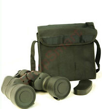 10 x 50 LOW LIGHT RUBY LENS RUBBERISED BINOCULARS + BAG, STRAP, CLOTH & COVER