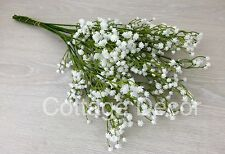 12 STEMS BEST ARTIFICIAL GYPSOPHILA BABY'S BREATH WEDDING REAL TOUCH HOME DECOR