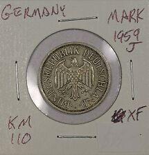 Germany Mark 1959 J. XF. KM 110