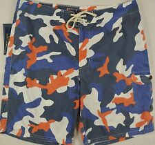 Polo Ralph Lauren Swim CAMO Trunks Swimming Board Surfing Shorts 34 NWT