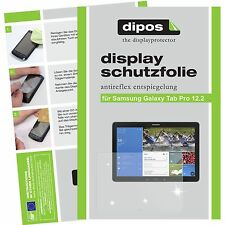 2x dipos Samsung Galaxy Tab Pro 12.2 Film de protection d'écran antireflet