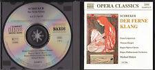 Schreker Der Ferne Klang Grigorescu Harper Halasz 2 CD Opera