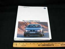 1996 BMW 5 series Car Press Kit Information Package Album w/ 22 Photos