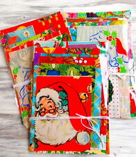 Vintage Christmas Wrap Paper Pack / Daily Planner / Junk Journal
