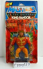 MOTU, King Randor, Masters of the Universe, MOC, carded, figure, He Man, sealed