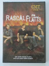 CMT Diary: Rascal Flatts with Exclusive Bonus Scenes! Country Music Band NEW DVD