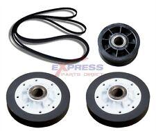 (EXP339) Y54414 40111201 37001042  Dryer Drum Roller, Belt and Idler Pulley Kit