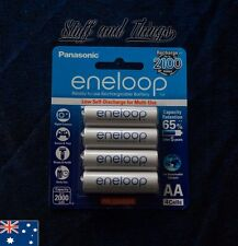 Panasonic - Eneloop AA Rechargable Batteries - 4 pack