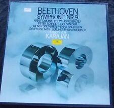 BEETHOVEN: Symphonies Nr 8&9 Berlina Philharmoniker/Karajan 2LP