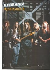 IRON MAIDEN under the X magazine PHOTO / mini Poster 11x8""