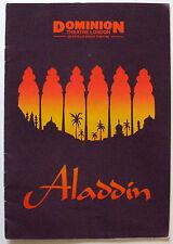 Aladdin Michael Barrymore Frank Bruno Geoffrey Durham Hal Nolan Roly Polys