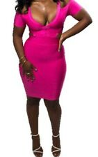 Pink Bandage Clubwear Bodycon Sexy Boutique dress