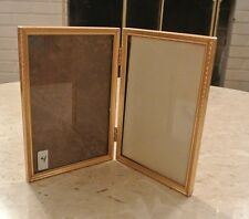 "Double Retro Picture Metal Frame  Great decor piece 7"" by 5"" # 4"
