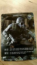 Hunk Promo Card Resident Evil Deck Building Game