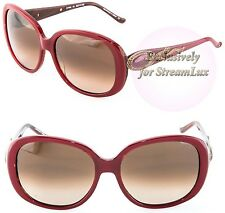 JUDITH LEIBER Sunglasses Handmade in Japan JL1643 06 Red