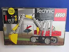 lego 8851 vintage TECHNIC EXCAVATOR DIGGER set COMPLETE instructions BOXED D40