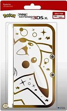 HORI NEW 3DS XL PIKACHU GOLD PREMIUM PROTECTOR CASE FOR NEW 3DS XL SYSTEM
