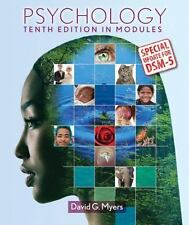 Psychology in Modules with Updates on DSM-5 by Myers, David G.